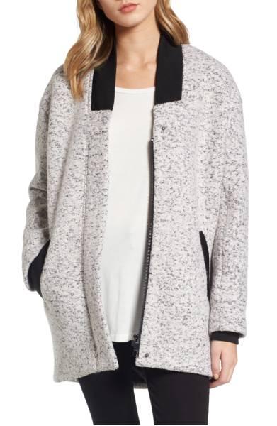 GUESS Oversize Boucle Jacket ($129.90) http://shopstyle.it/l/dkrJ