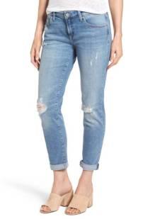 Mavi Jeans Ada Distressed Boyfriend Jeans (Light Used Vintage) ($78.90) http://shopstyle.it/l/c14A