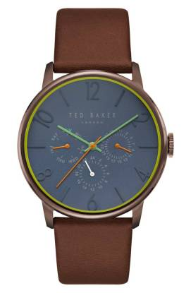 Ted Baker London James Chronograph Leather Strap Watch, 42mm ($109.90) http://shopstyle.it/l/cNR8