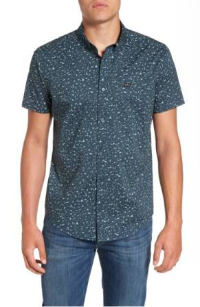 RVCA Galaxy Spatter-Print Woven Shirt ($39.90) http://shopstyle.it/l/cNze