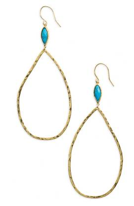 gorjana Lola Semiprecious Stone Drop Earrings ($49.90) http://shopstyle.it/l/cPwB