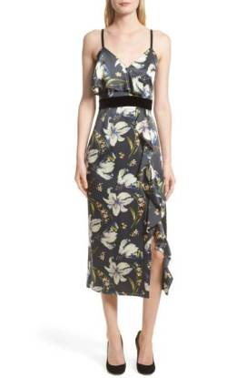 Cinq a Sept Leena Floral Print Dress ($349.90) http://shopstyle.it/l/dg7x