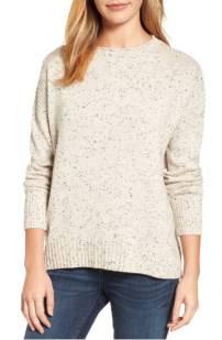Caslon Zip Back Pullover ($59.90) http://shopstyle.it/l/c0Wx