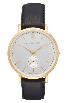 Larsson & Jennings Lugano Leather Strap Watch, 38mm ($223.90) http://shopstyle.it/l/cNQt