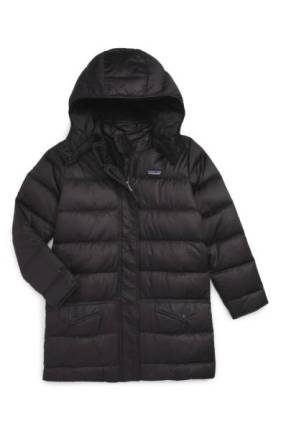 Patagonia 'Down for Fun' Water Repellent Coat ($140.90) http://shopstyle.it/l/cKEM