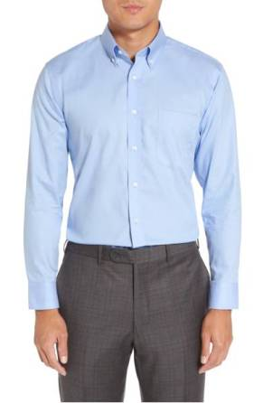 Nordstrom Men's Shop Trim Fit Non-Iron Dress Shirt ($45.90) http://shopstyle.it/l/cNzt