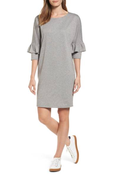 Bobeau Ruffle Sleeve Tunic Dress ($39.90) http://shopstyle.it/l/c3ZE
