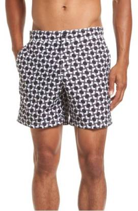 Ben Sherman Graphic Print Swim Trunks ($45.90) http://shopstyle.it/l/cNK4