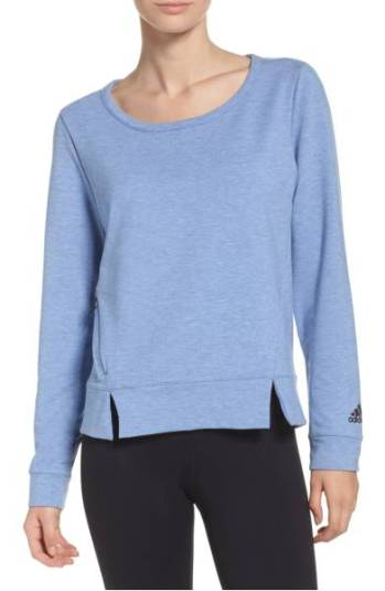 adidas Performer Long Sleeve Pullover ($44.90) http://shopstyle.it/l/cPSC