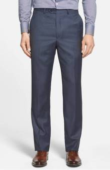 Santorelli Luxury Flat Front Wool Trousers ($129.90) http://shopstyle.it/l/cNFo