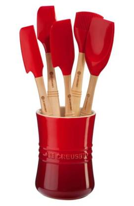 Le Creuset 'Revolution' 6-Piece Utensil Set $92 (20% off) http://shopstyle.it/l/cFFk