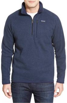 Patagonia 'Better Sweater' Quarter Zip Pullover ($69.90) http://shopstyle.it/l/cNvN
