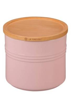Le Creuset Glazed Stoneware Storage Canister $49.99 (20% off) http://shopstyle.it/l/cFFw
