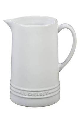 Le Creuset Glazed Stoneware 1 2/3 Quart Pitcher $44.99 (20% off) http://shopstyle.it/l/cFIH