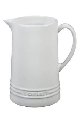 Le Creuset Glazed Stoneware 1 2/3 Quart Pitcher $44.99 (20% off) http://shopstyle.it/l/cFIH