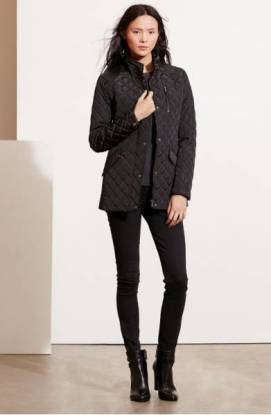Lauren Ralph Lauren Diamond Quilted Jacket with Faux Leather Trim ($99.90) http://shopstyle.it/l/dkwE