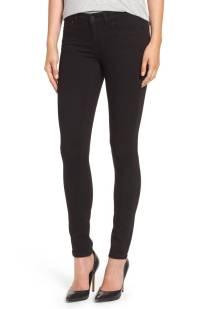 Caslon Stretch Skinny Jeans (Black) ($45.90) http://shopstyle.it/l/c197