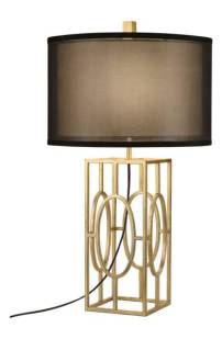JAlexander Caged Gold Leaf Table Lamp$169.99 (25% off) http://shopstyle.it/l/cFEx