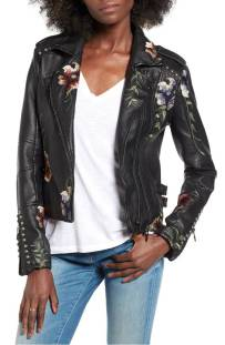BLANKNYC Embroidered Faux Leather Moto Jacket ($111.90) http://shopstyle.it/l/dkrS
