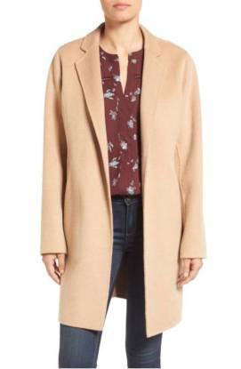 MICHAEL Michael Kors Double Face Wool Blend Coat ($149.90) http://shopstyle.it/l/dkv4